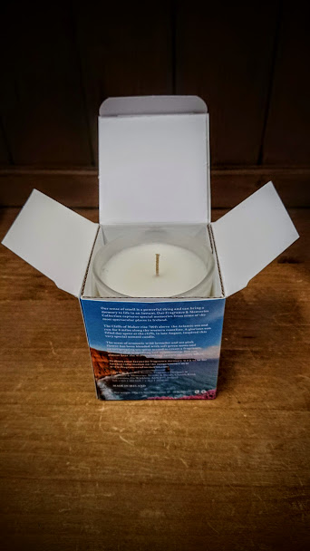 Fragrance and Memories - Natural Wax Scented Candle - Cliffs of Moher