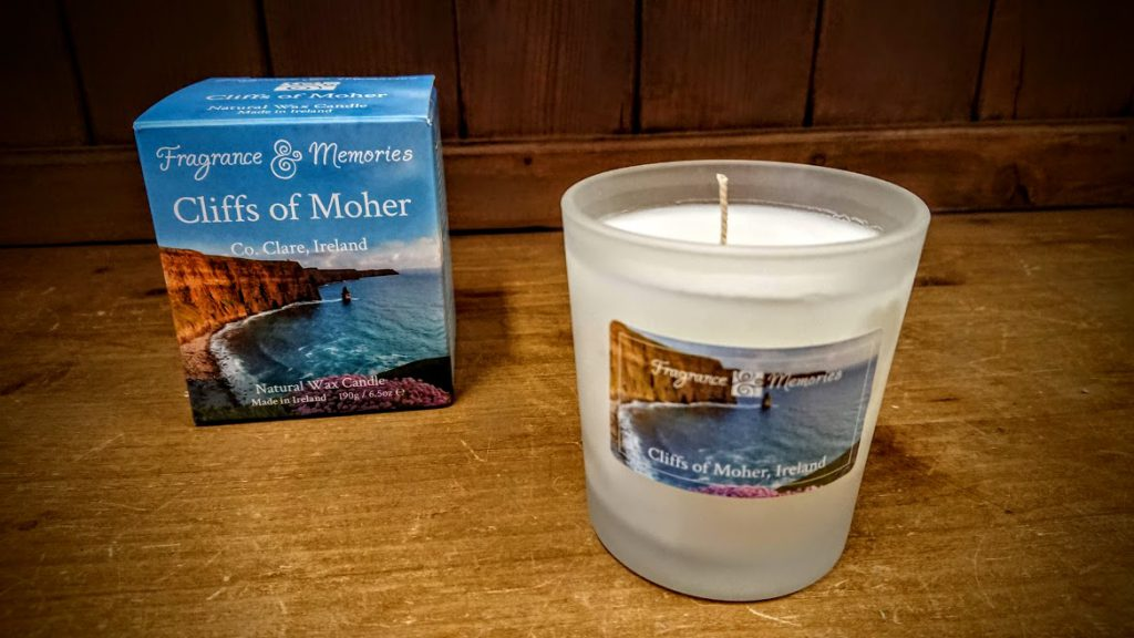 fragrance and memories cliffs of moher scented candle