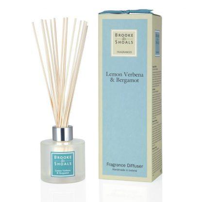 Brooke Shoals Fragrance Diffuser - Lemon Verbena & Bergamot
