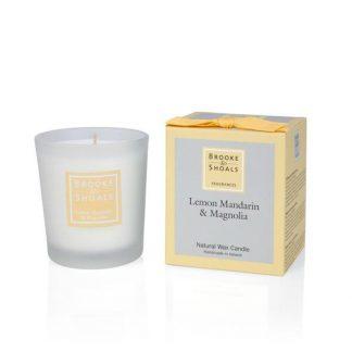 Scented Candle - Lemon, Mandarin & Magnolia