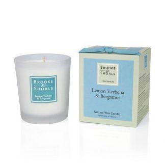 Scented Candle - Lemon Verbena & Bergamot