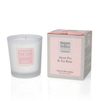 Scented Candle - Sweet Pea & Tea Rose
