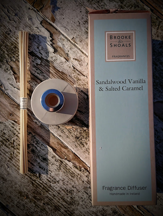 Brooke and Shoals Reed Diffuser - Sandalwood Vanilla and Salted Caramel
