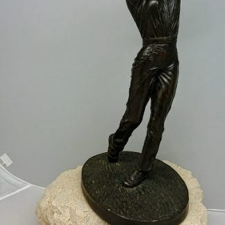 Jeanne Rynhart Bronze Sculpture - Golfer Female
