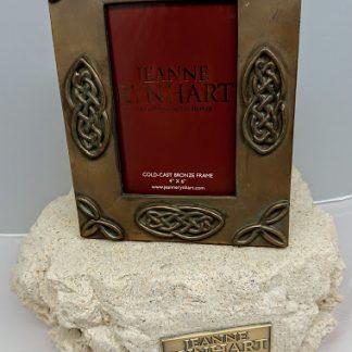 Jeanne Rynhart Bronze Frame 4 inch x 6 inch