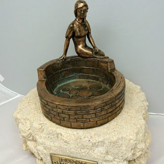 Jeanne Rynhart Bronze Sculpture - Remembrance