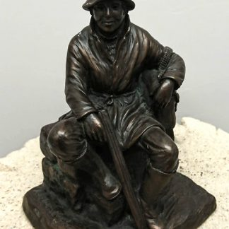 Jeanne Rynhart Bronze Sculpture - Poachers Rest