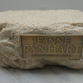 Jeanne Rynhart Stone Plinth Small