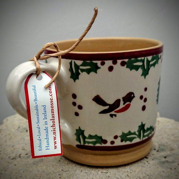 Nicholas Mosse Large Mug - Winter Robin
