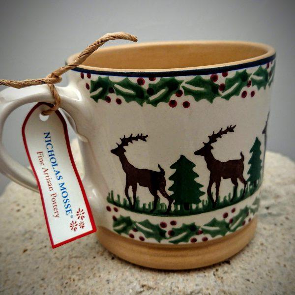 Nicholas Mosse Large Mug -Reindeer