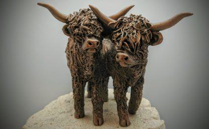 Frith Sculpture - Highland Heifers