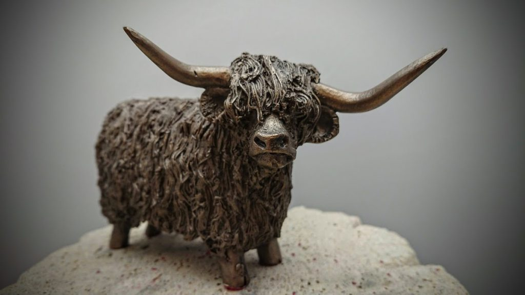 Frith Sculpture - Highland Bull Standing