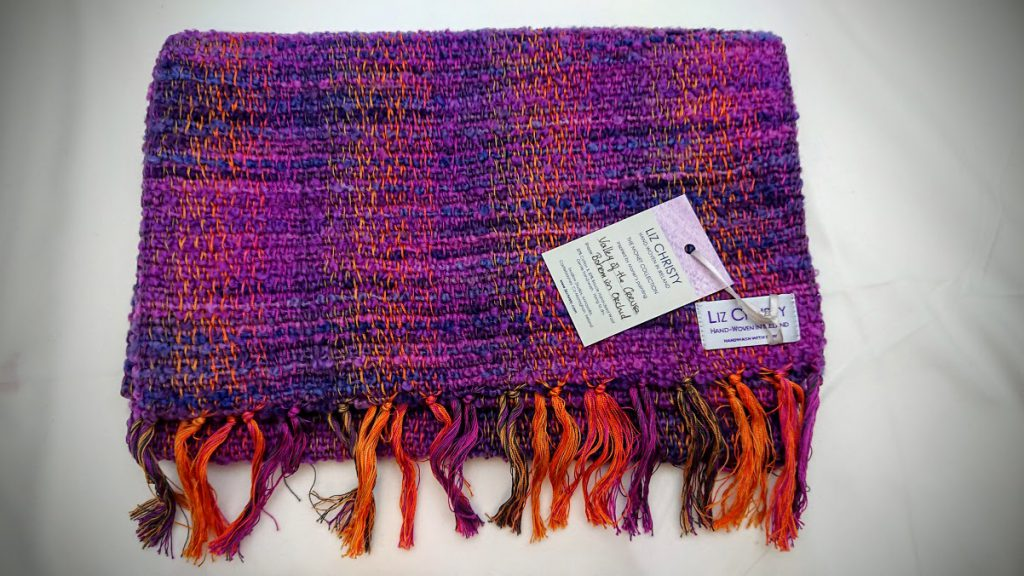 Liz Christy Scarf - Valley of the Creuse - Wild Orchid