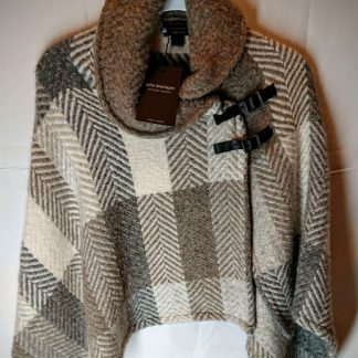 John Branigan Shawl Collar Irish Tweed Cape