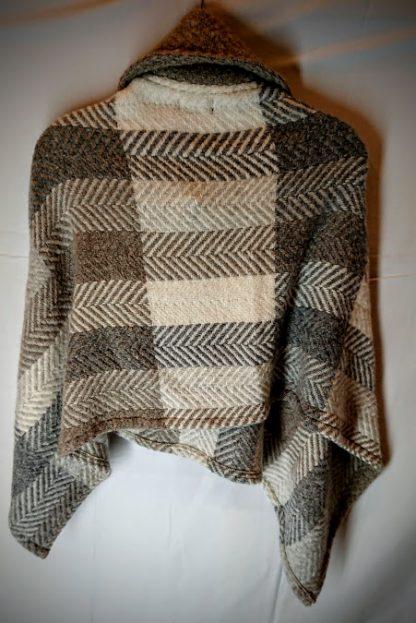 John Branigan Shawl Collar Irish Tweed Cape